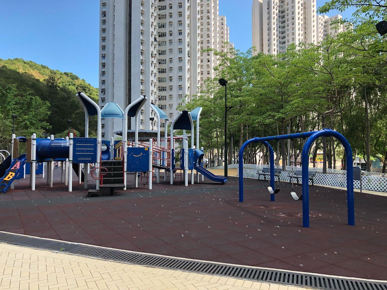Siu Sai Wan Promenade's play area