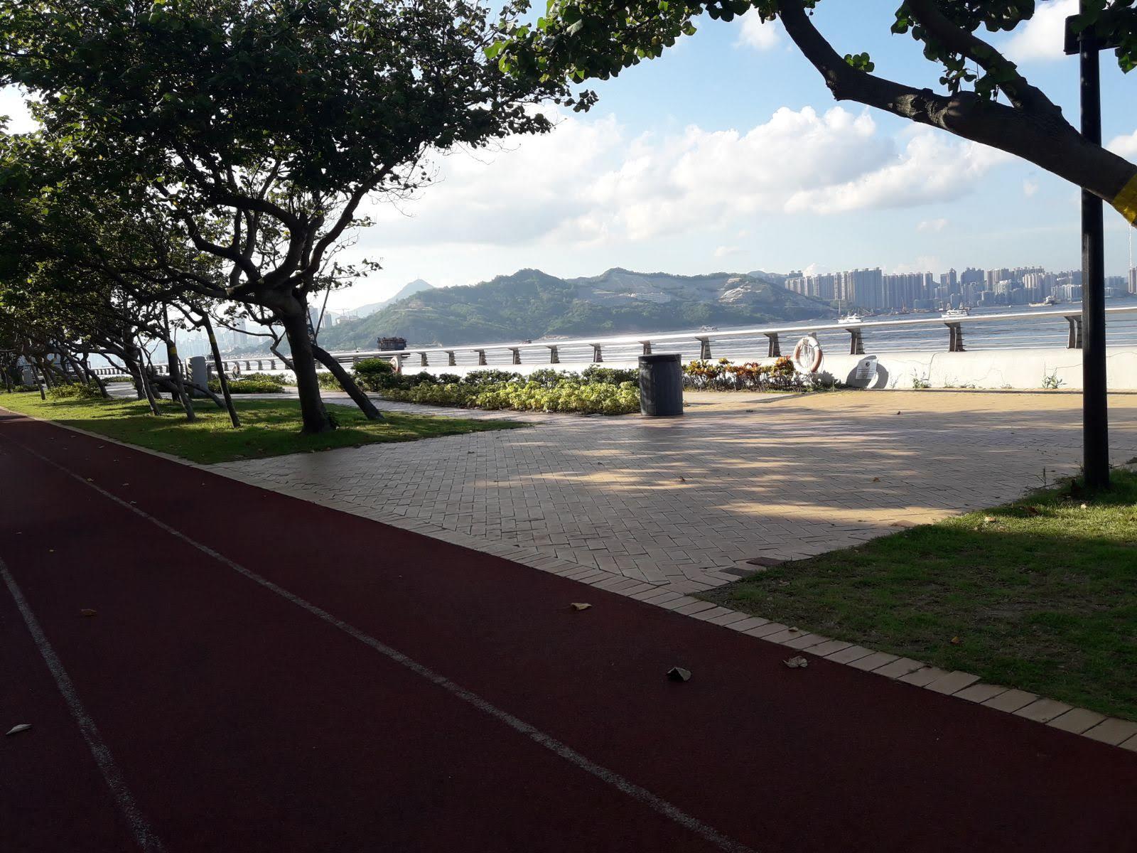 Siu Sai Wan Promenade's bay iew