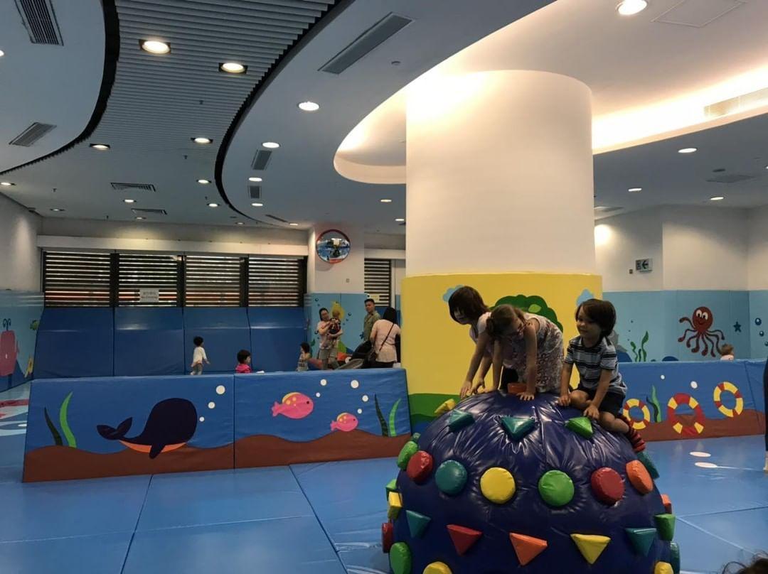 Tin Fai Road Sports Centre's indoor playroom