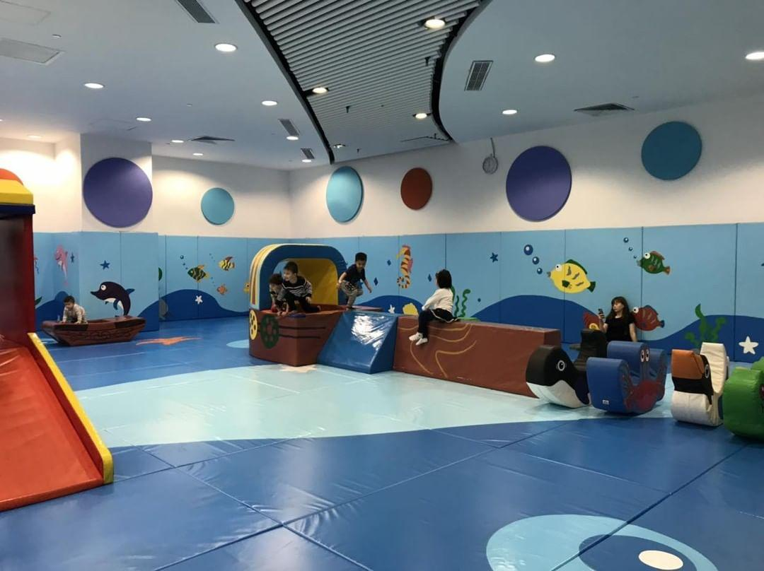 Tin Fai Road Sports Centre's indoor playroom