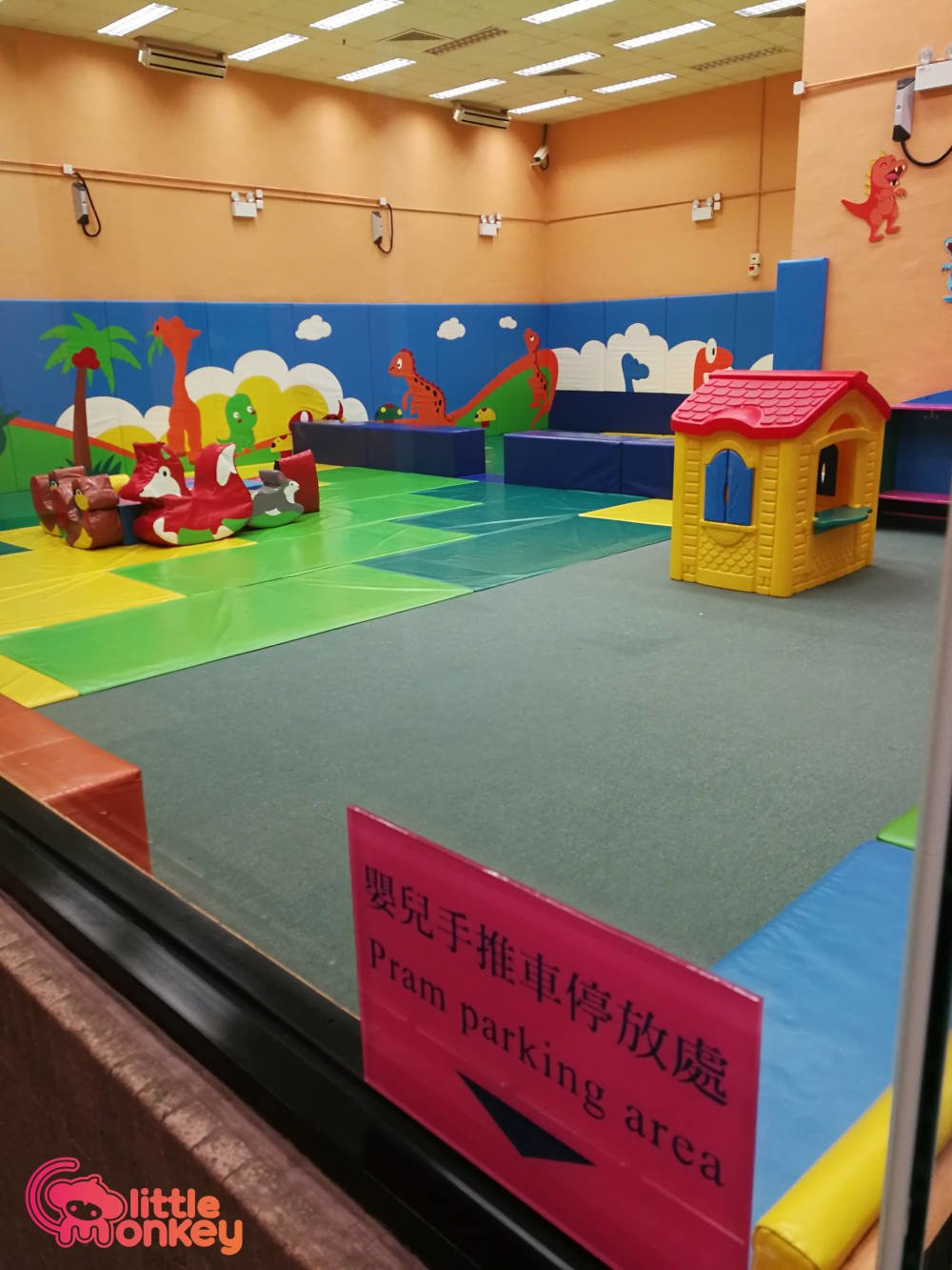 Smithfield Sports Centre's playroom for children
