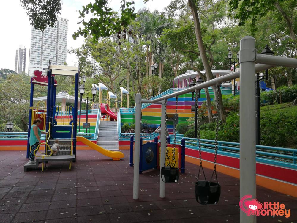 Hong Kong Park's outdoor equipments