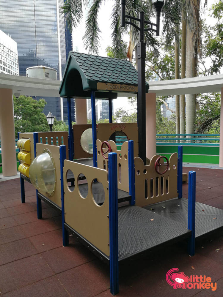 Hong Kong Park childrens playground's toddlertown