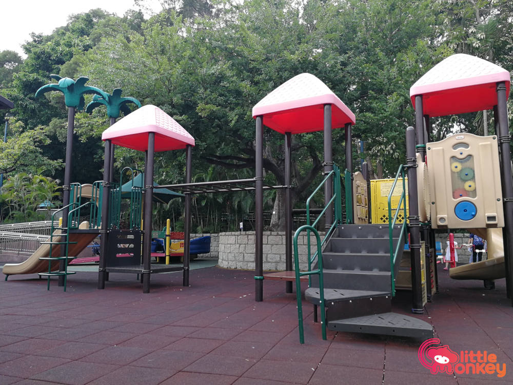 Kowloon Park's friendly slides to fun climbing apparatus