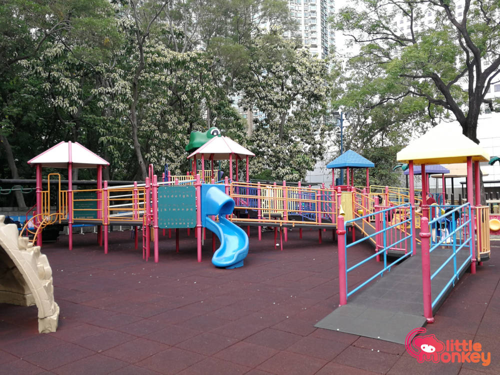 Kowloon park's huge play area