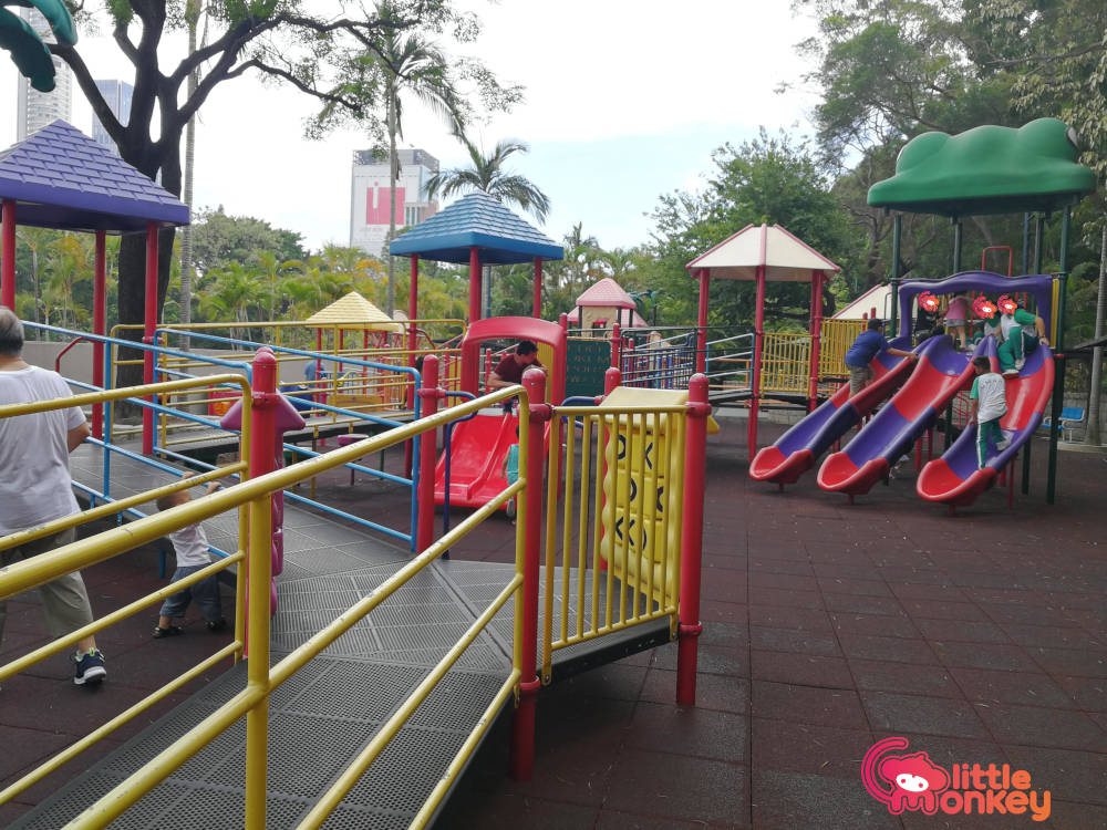 Kownloon Park's fascinating play area