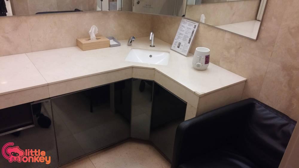 Lee Garden One's basin of nursery room