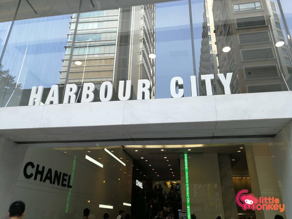 Harbour City's logo signage