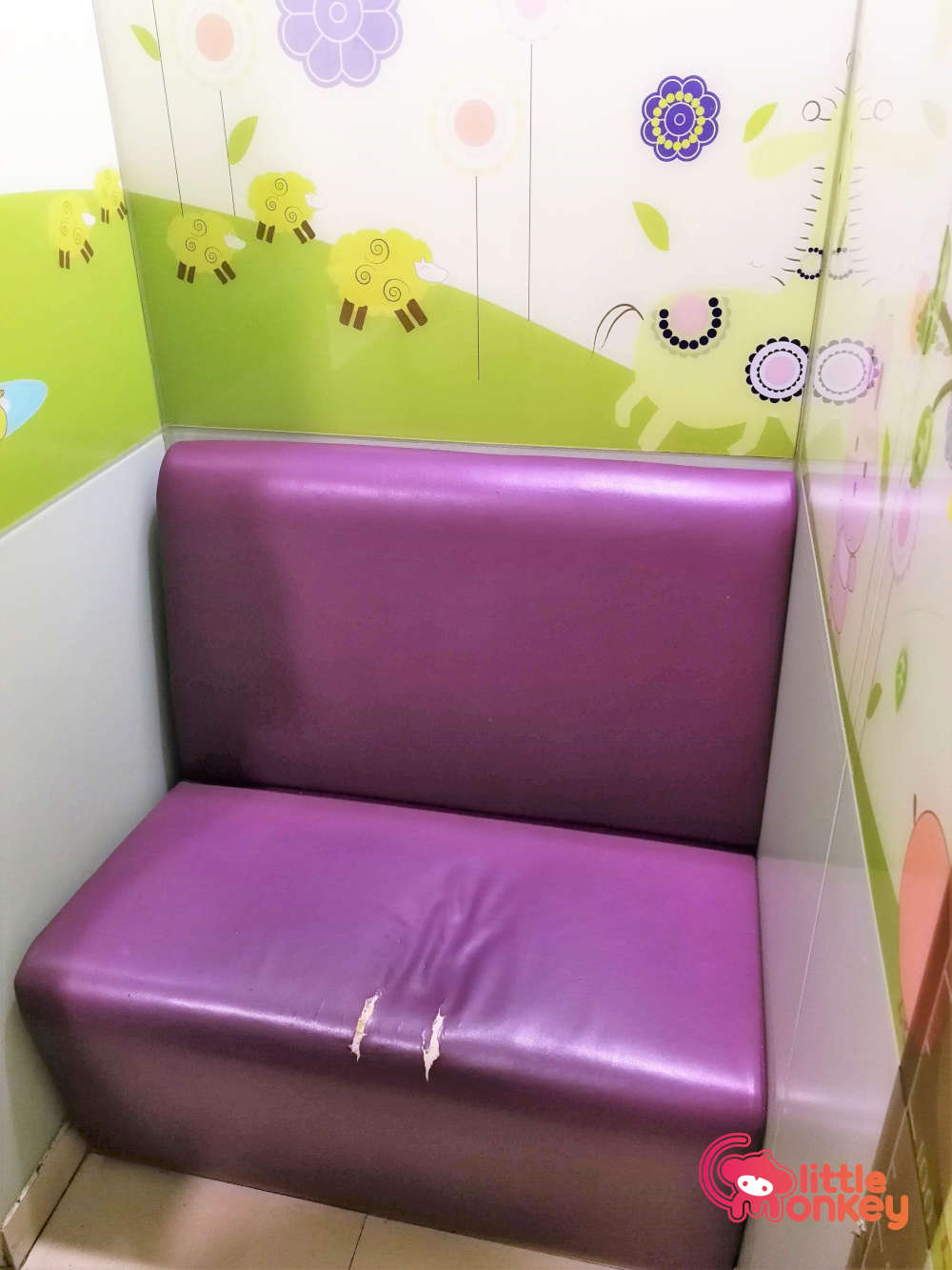 East Point City's Nursery Room sitting area.