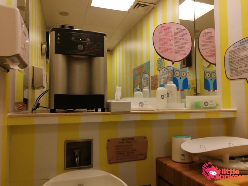 Nursery room's facilities in K11