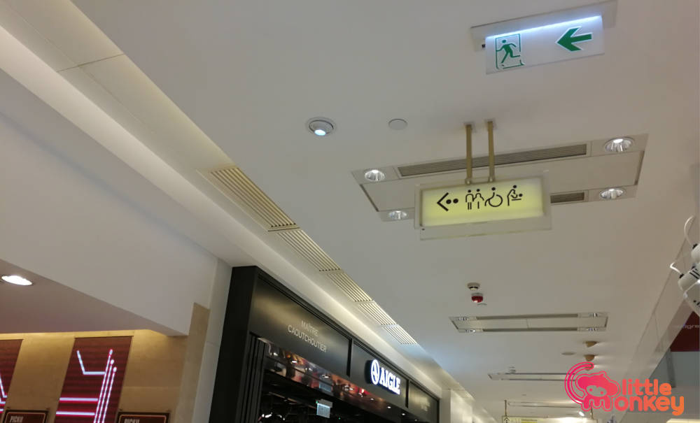 Mall signage of K11