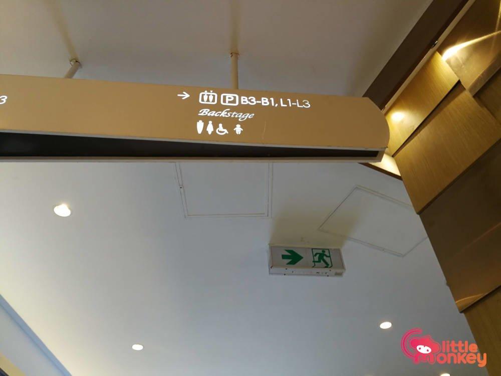 Mira Place's mall signage