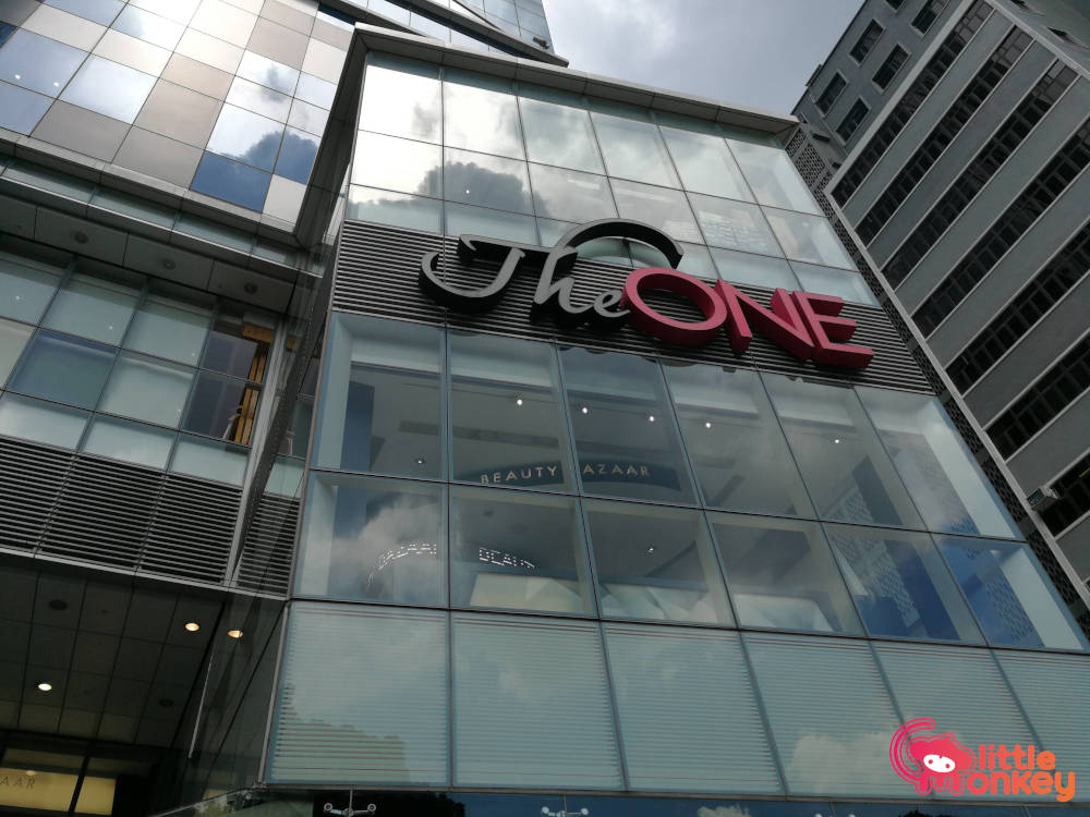 Tallest retail complex of Hong Kong's The One