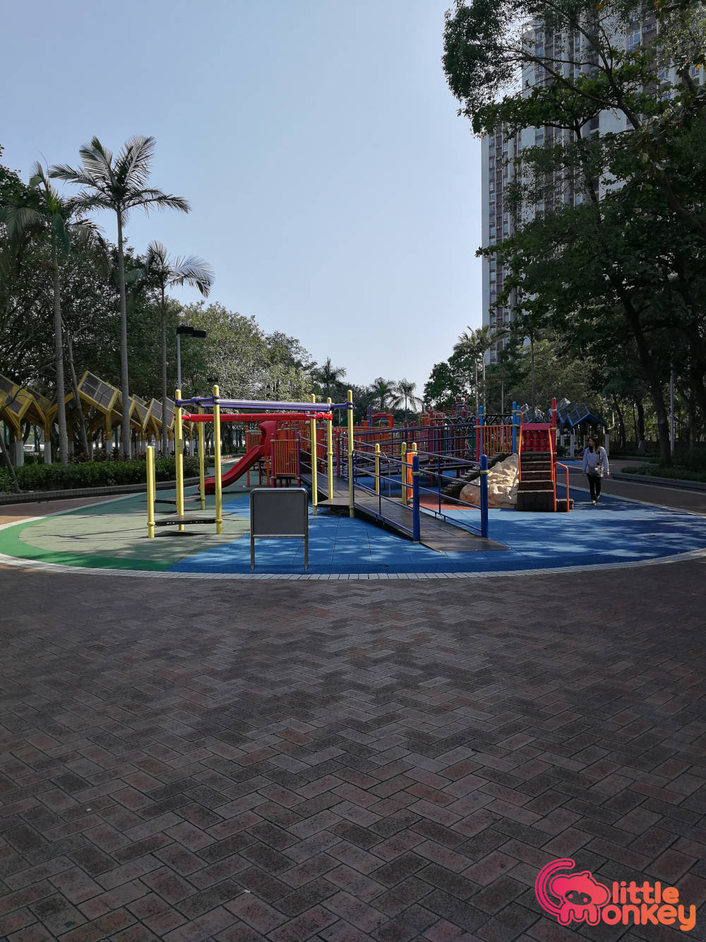 Quarry Bay Park's outdoor playground
