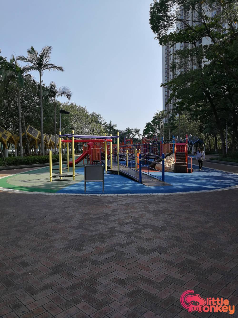Quarry Bay Park's outdoor playground