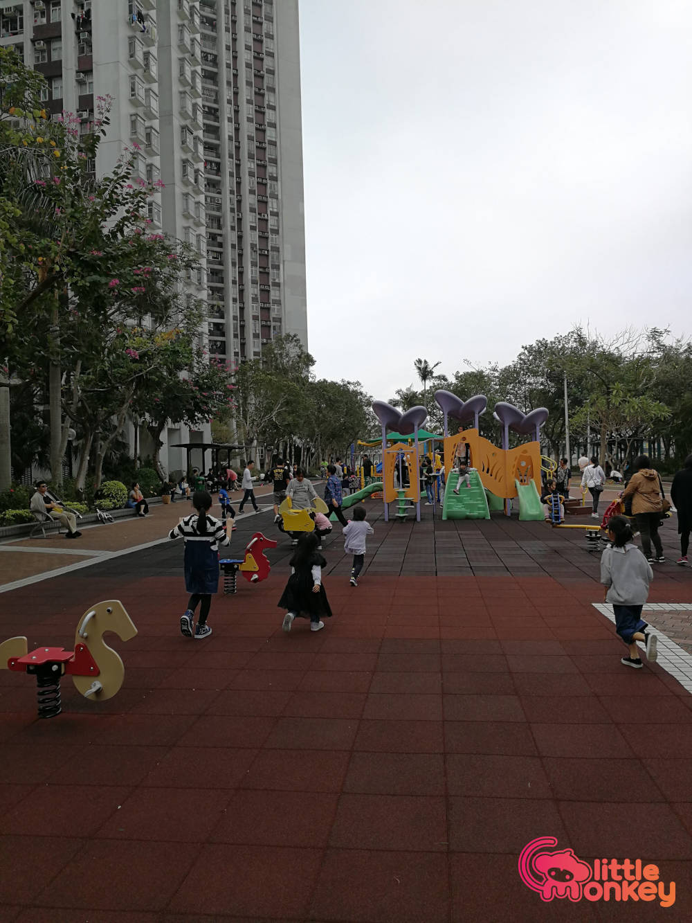 Quarry Bay's play park