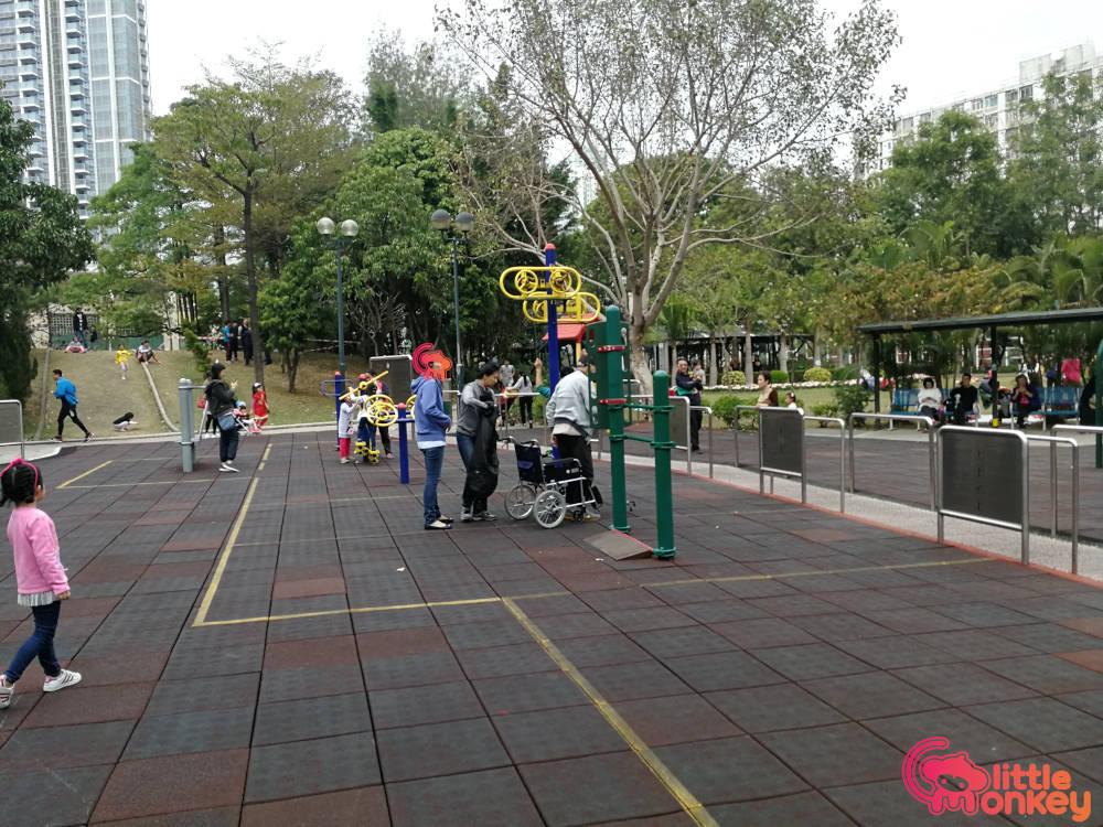 Nam Cheong Park's play area