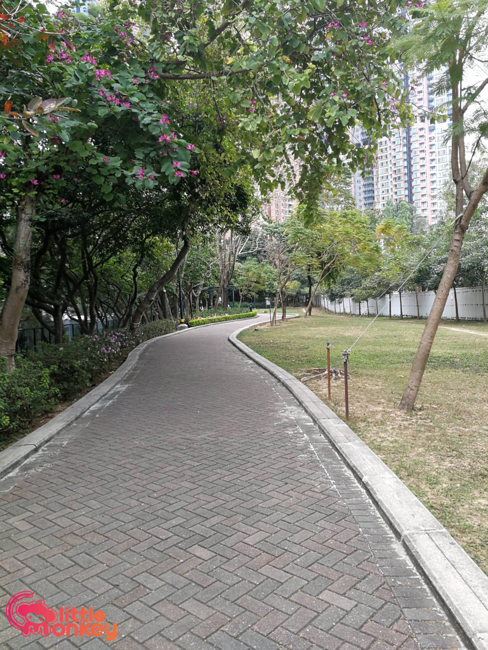 Nam Cheong's well maintained park