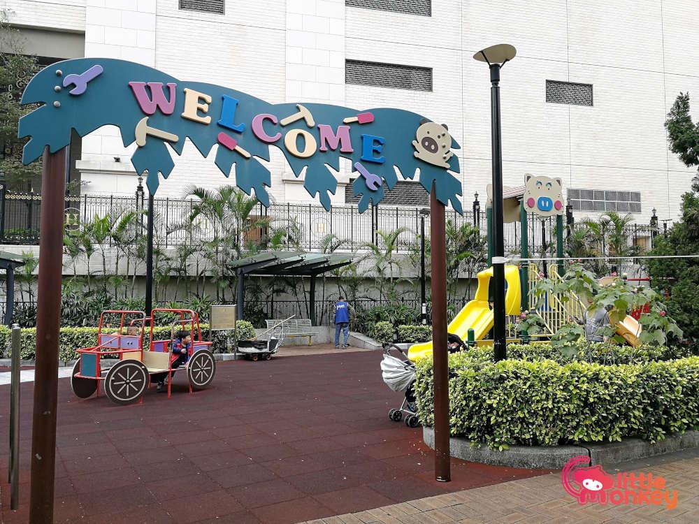Cherry Street Park's Children Playground
