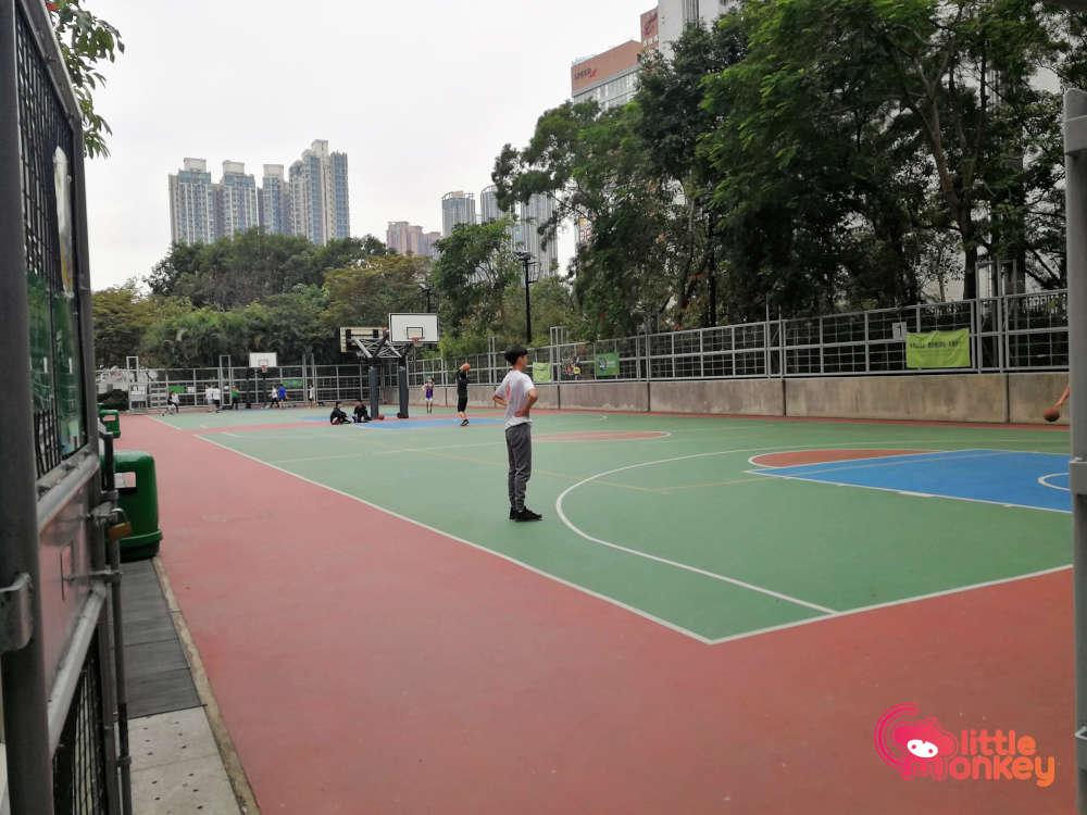Tennis Court at Cherry Street Park