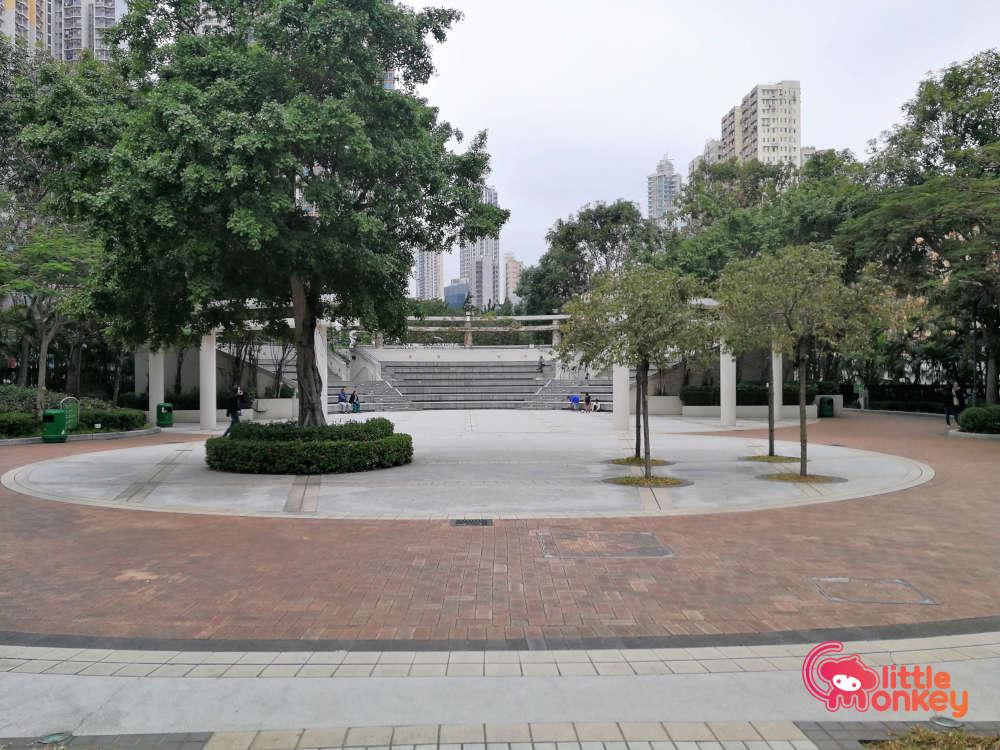 Amphitheater at Cherry Street Park