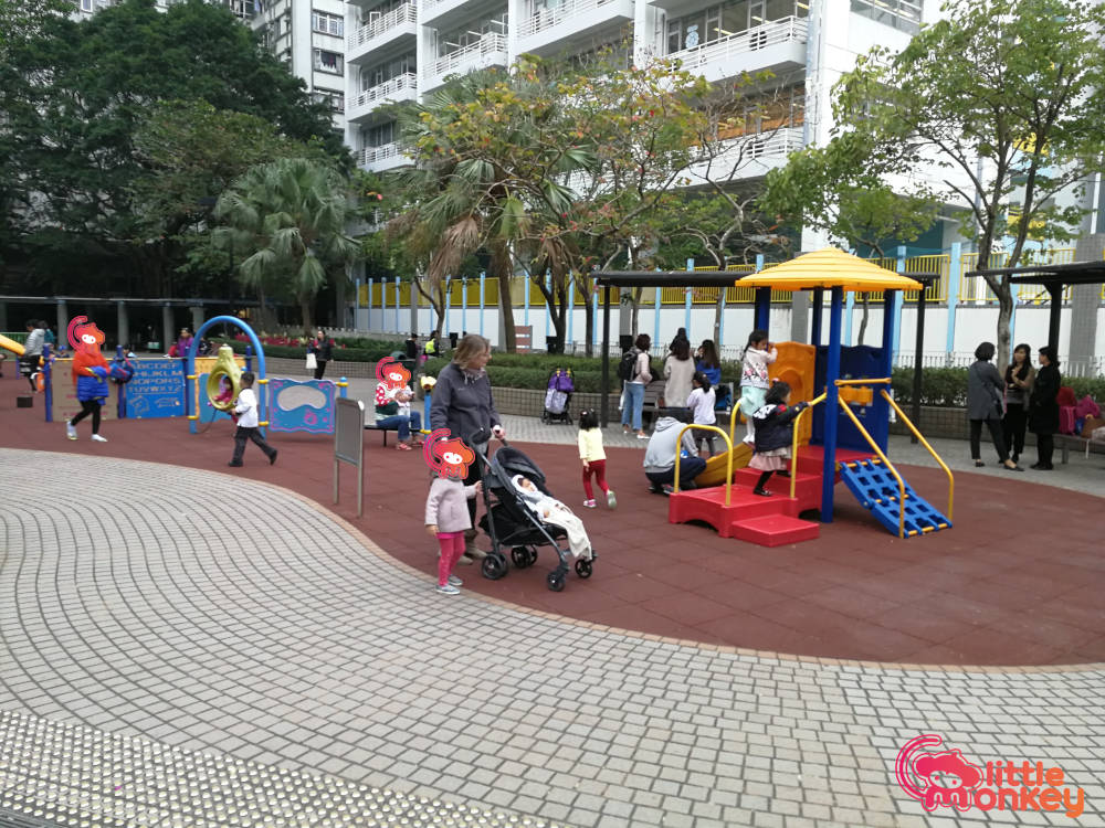 Sai Wan Ho Playground's small facilities