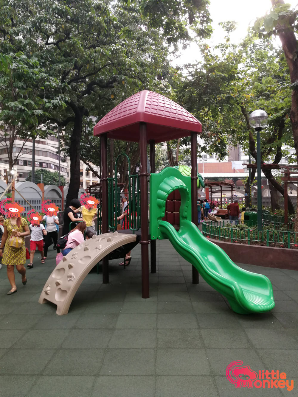 Southorn Playground's slide