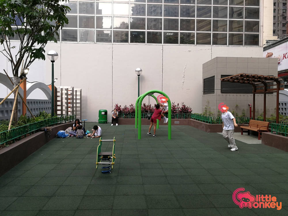 Southorn Playground's play area