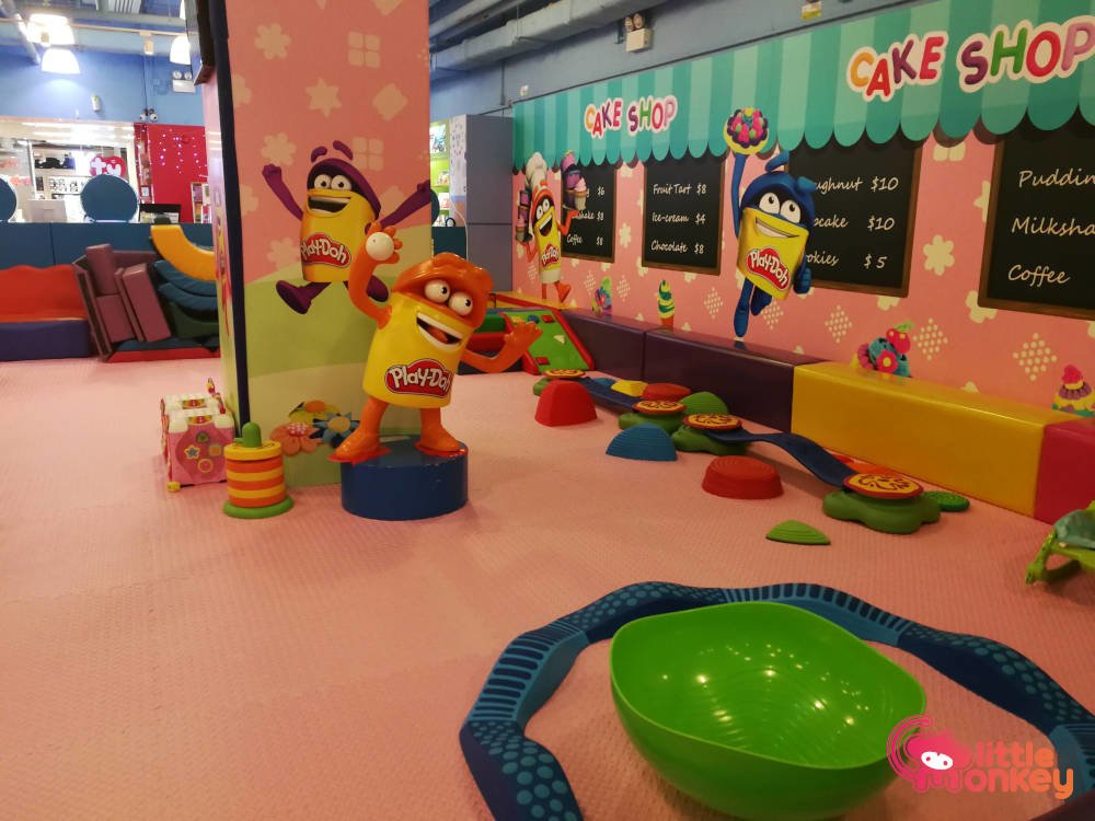 E3 Club's play area in iSquare