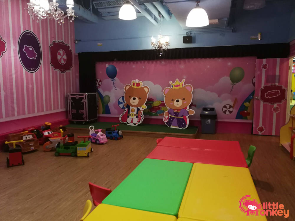 E3 Club's party service for kids in iSquare