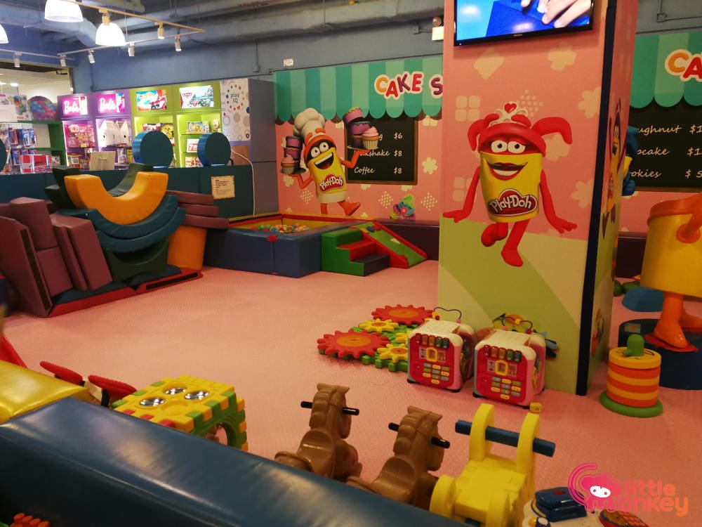 E3 Club's playland in iSquare