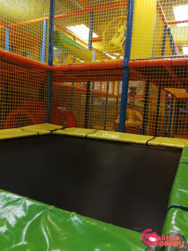 E3 Club's trampoline in iSquare
