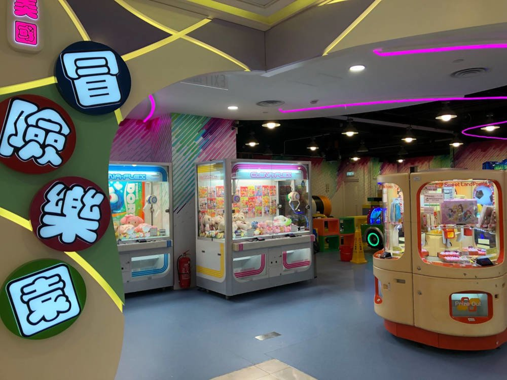 Jumpin Gym USA's different machines in Island Resort Mall