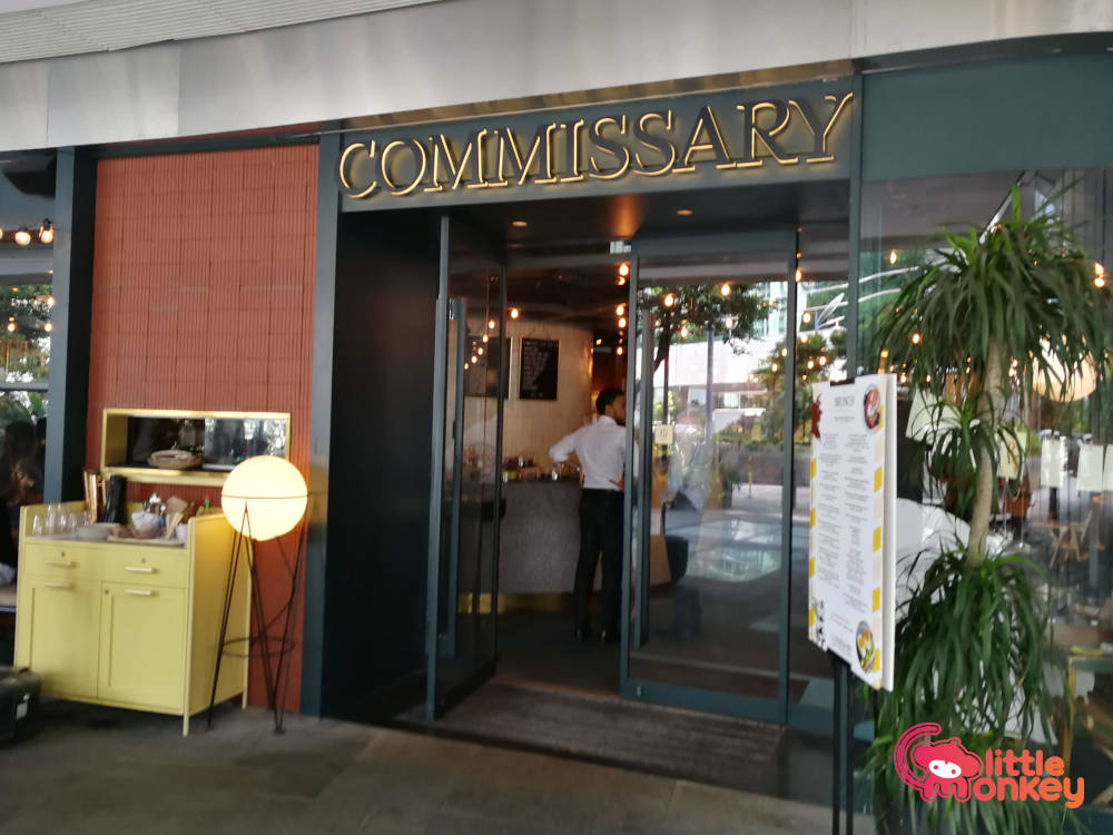 Commissary's entrance