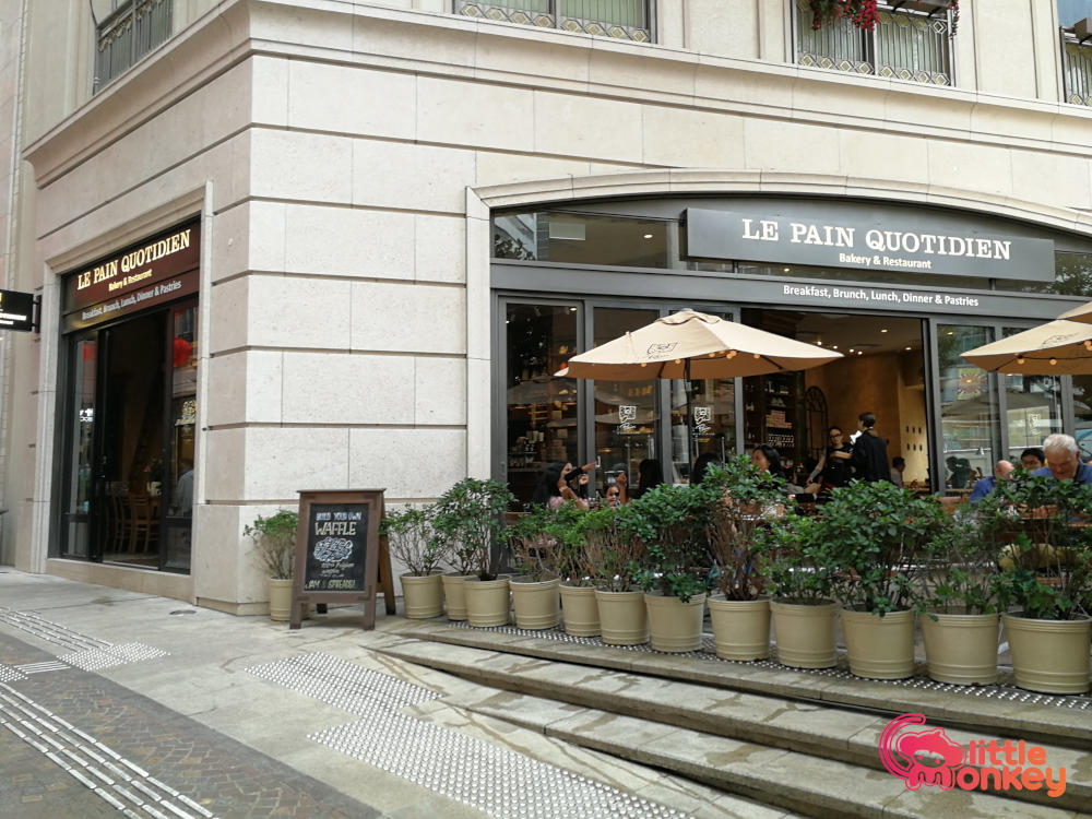 Causeway Bay's Le Pain Quotidien bakery and restaurant