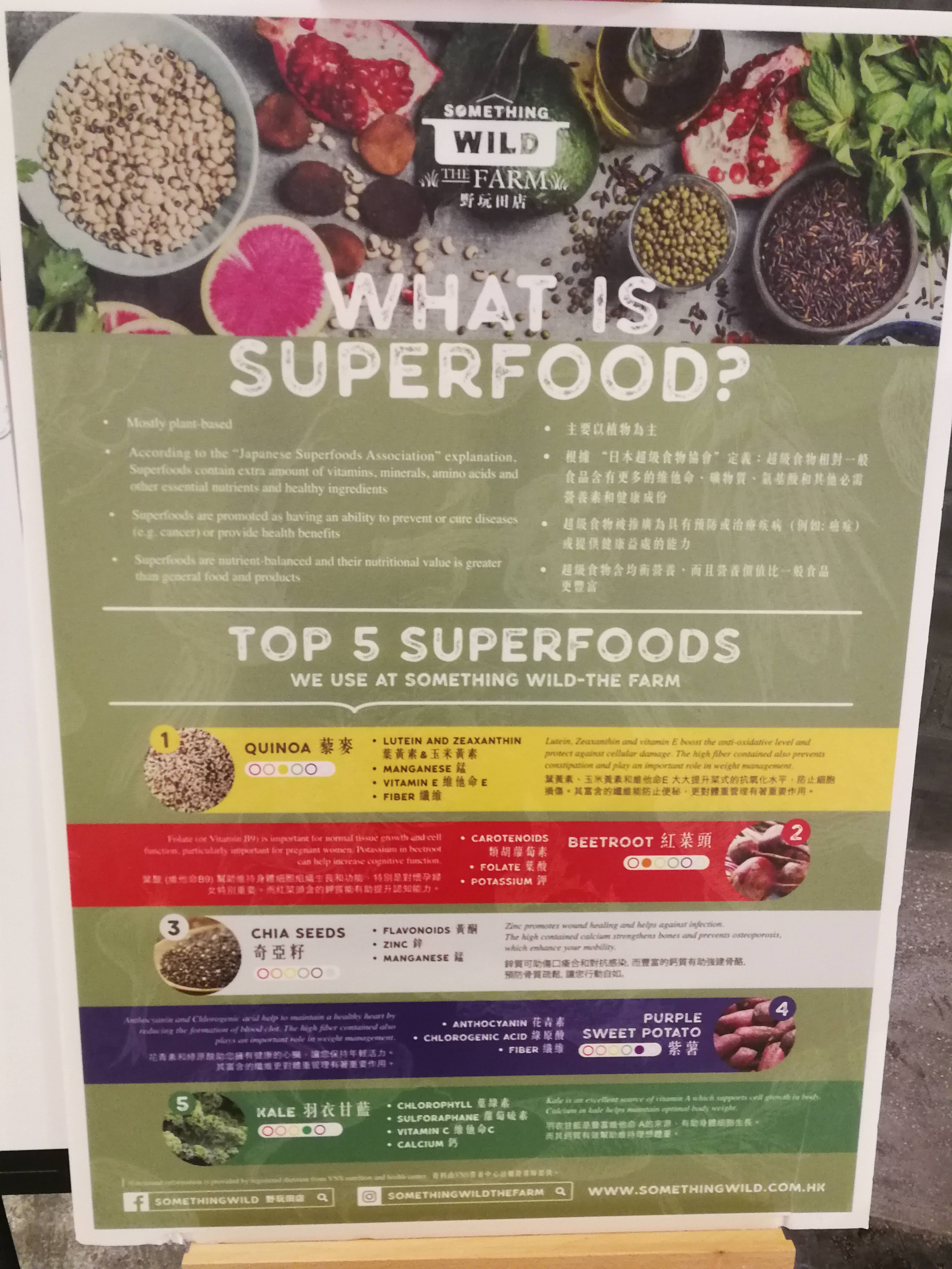Wild Thing The Farm's superfood guide