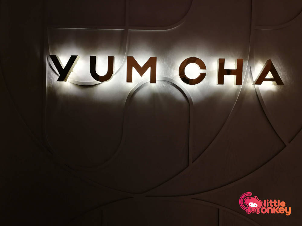 Yum Cha's logo singage in Central