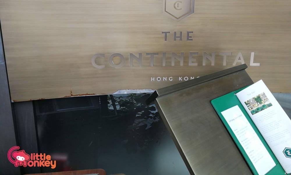 The Continental's logo design