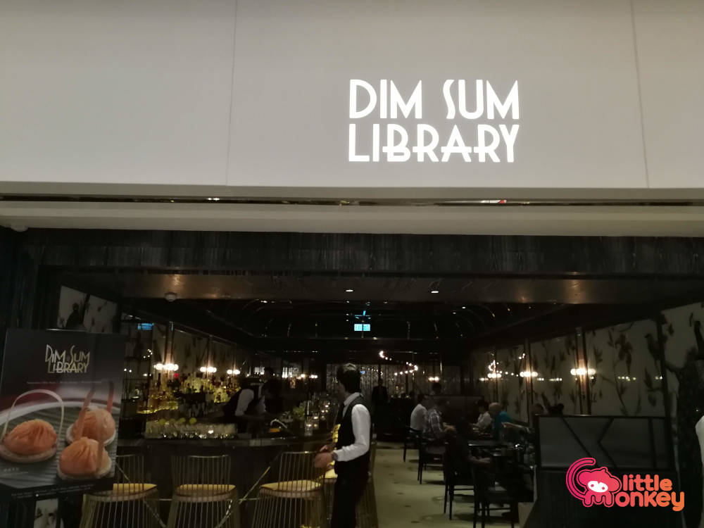 The Continental's dim sum library