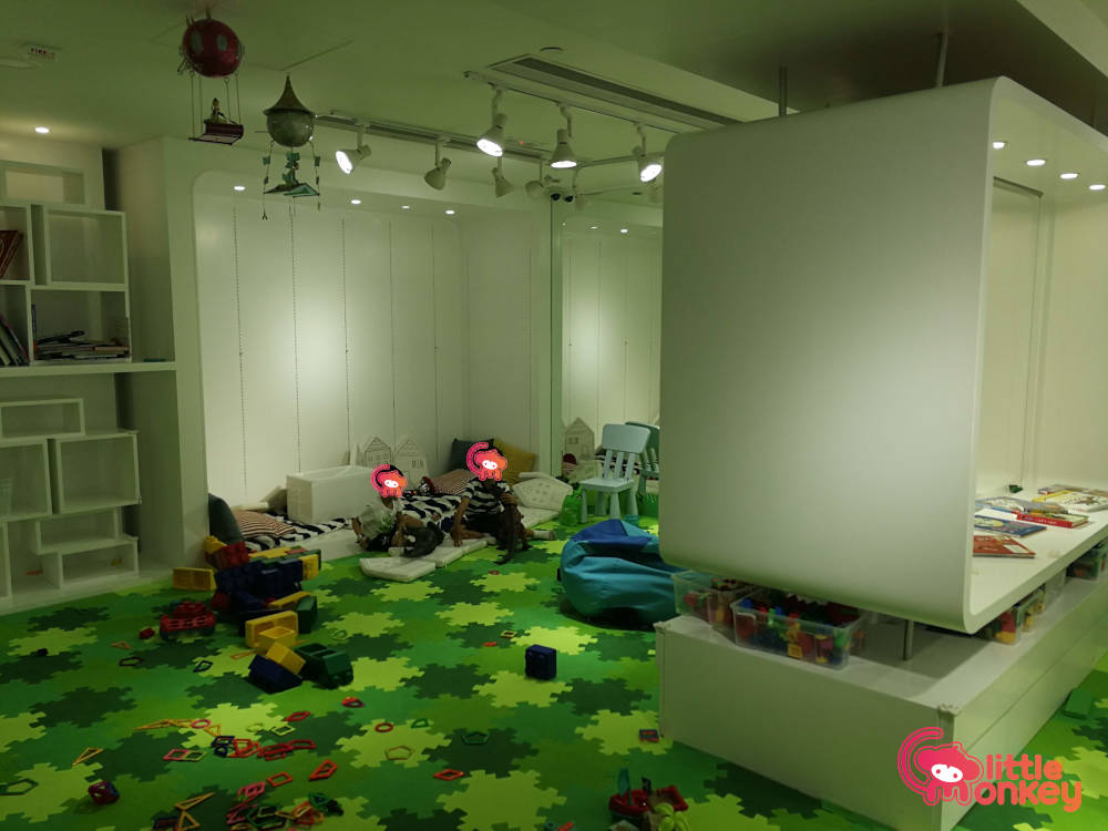 Wise Kid's spacious playroom at Lee Garden Two