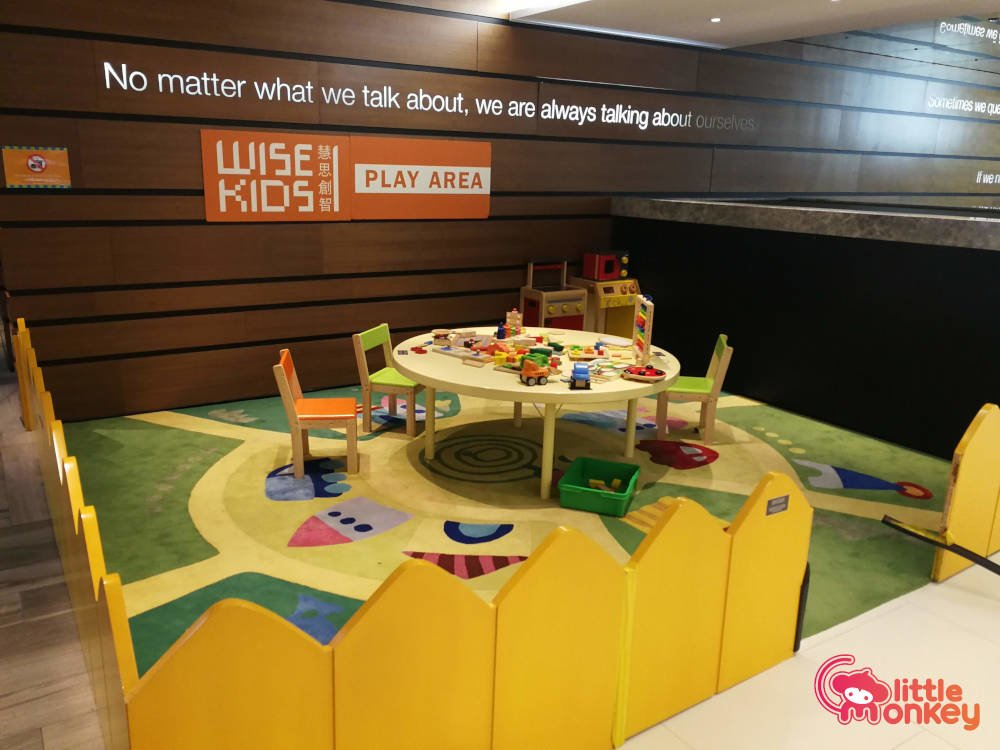 Wise Kid's play area in Lee Garden Two