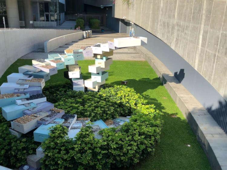 Tamar Park's structural designs