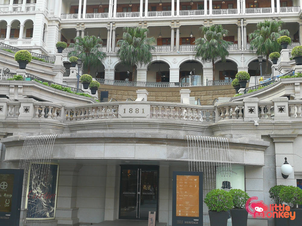 Luxury Hotel and a boutique shopping mall in 1881 Heritage