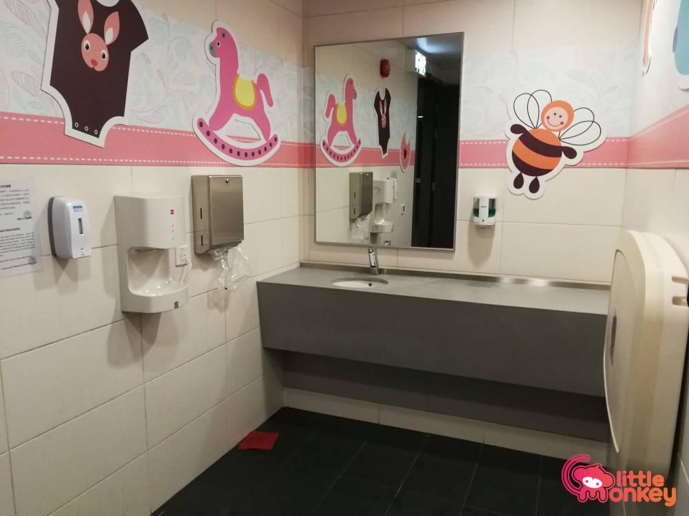 Hong Kong Velodrome Baby Care Room Little Monkey