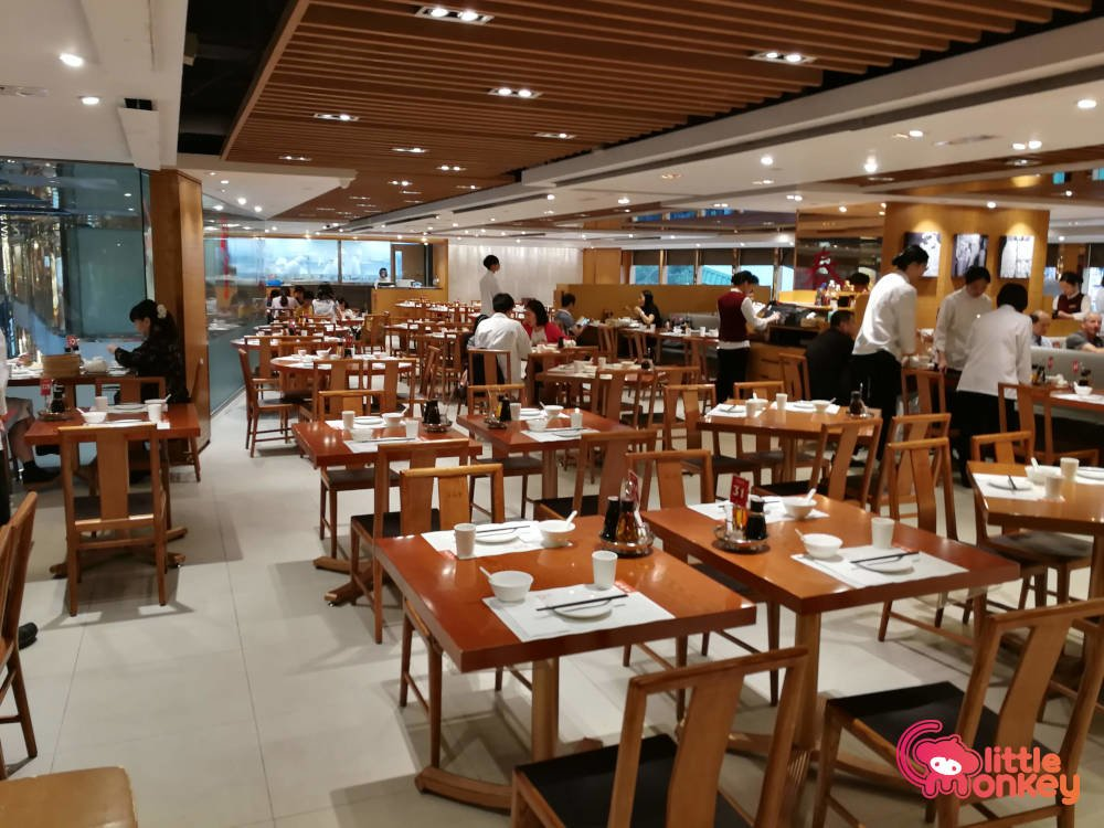 Din Tai Fung's interior design in Silvercord