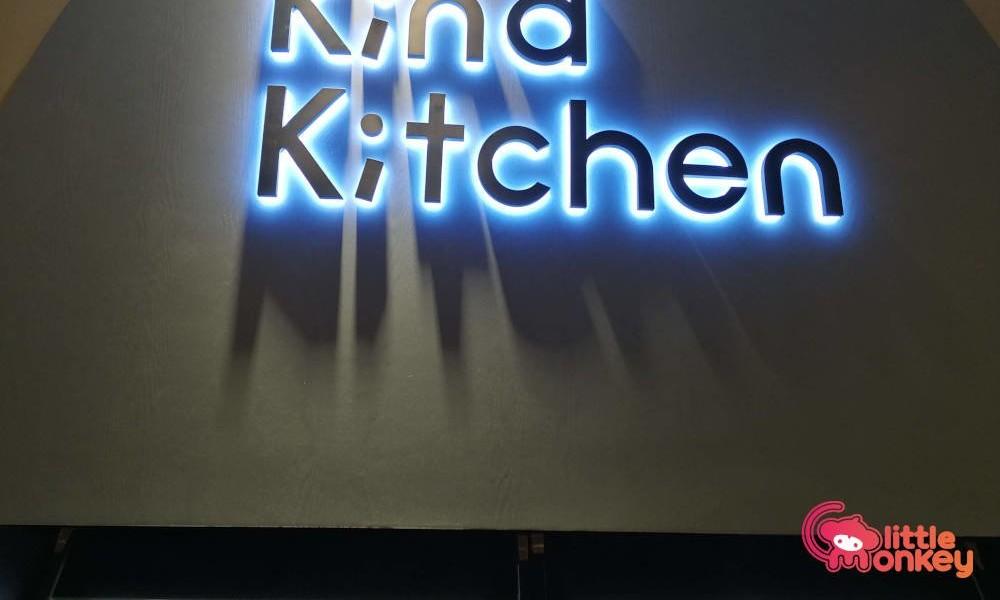 Kind Kitchen's logo signage