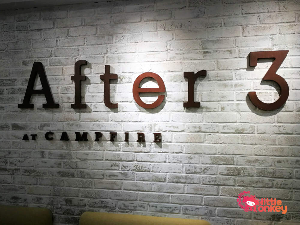 Signage of After 3