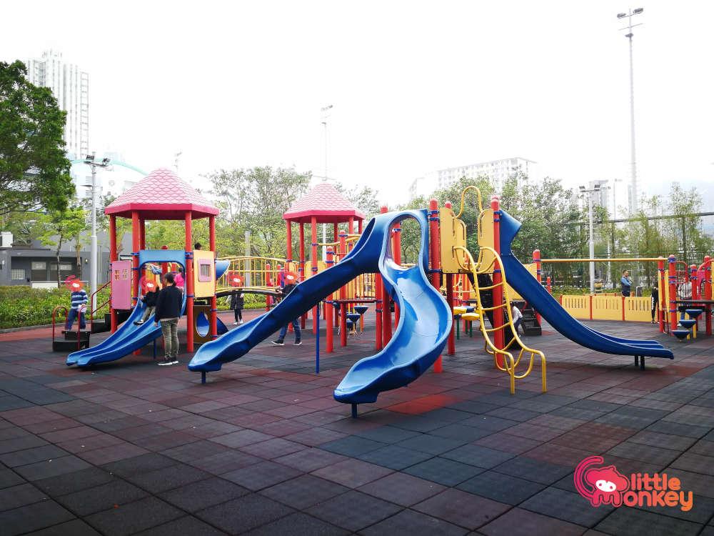 Children Playground at Kowloon Bay Park