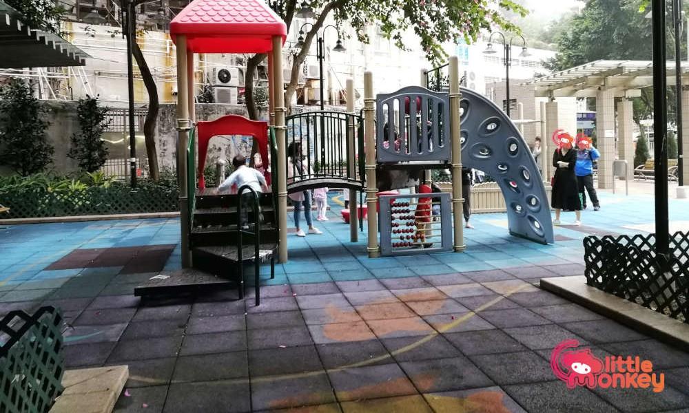 Playground at Catchick Street Garden