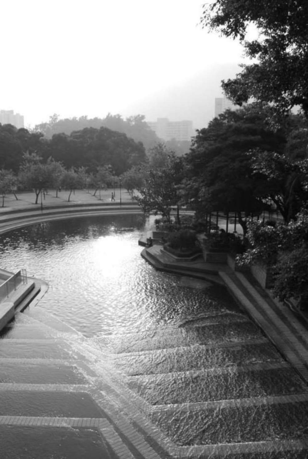 Aerial Shot of Tuen Mun Park